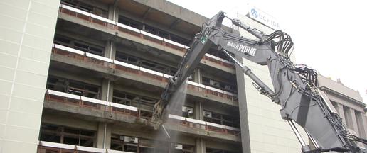 滋賀県大津市の建設会社/株式会社内田組のアスベスト除去対策